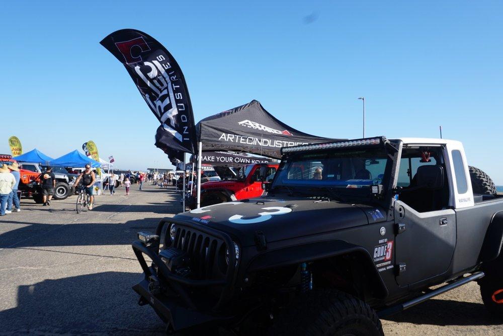 Jeep Bash Vendor section