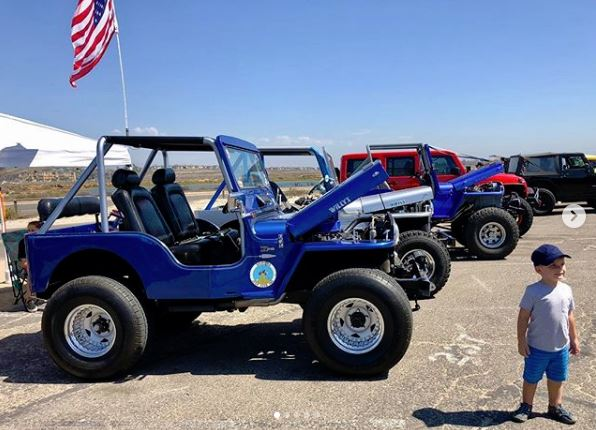 Jeep Willy's on site