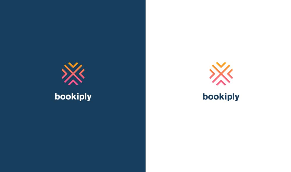 Final Bookiply logo design