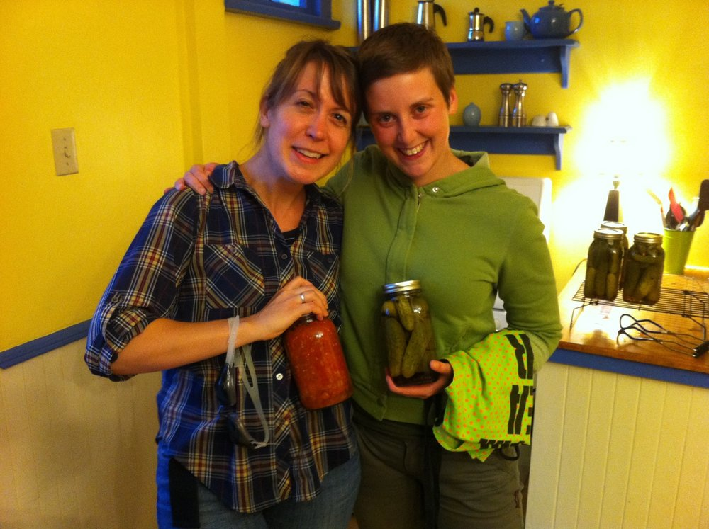 29 Heather and Ami, canning friends.jpg