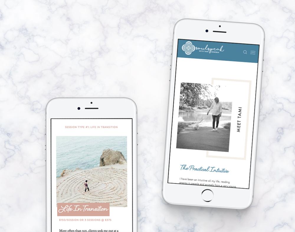 SoulSpeak · Brand + Web Design