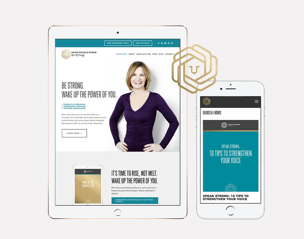 Kristi McNab · Brand + Web Design