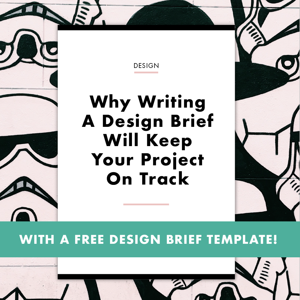 Design Brief Template - Communicate your hopes, dreams and expectations to your designer at the start of your project.