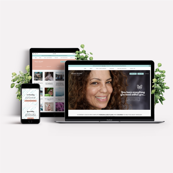 Maria McCord  · Brand + Web Design