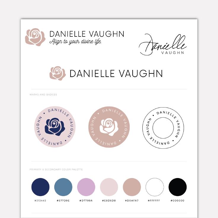 Danielle Vaughn  · Brand Design