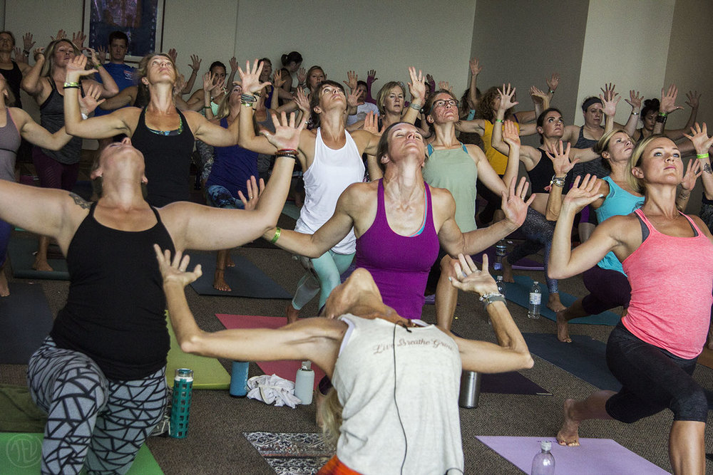 Telluride Yoga Festival attendees open their hearts.