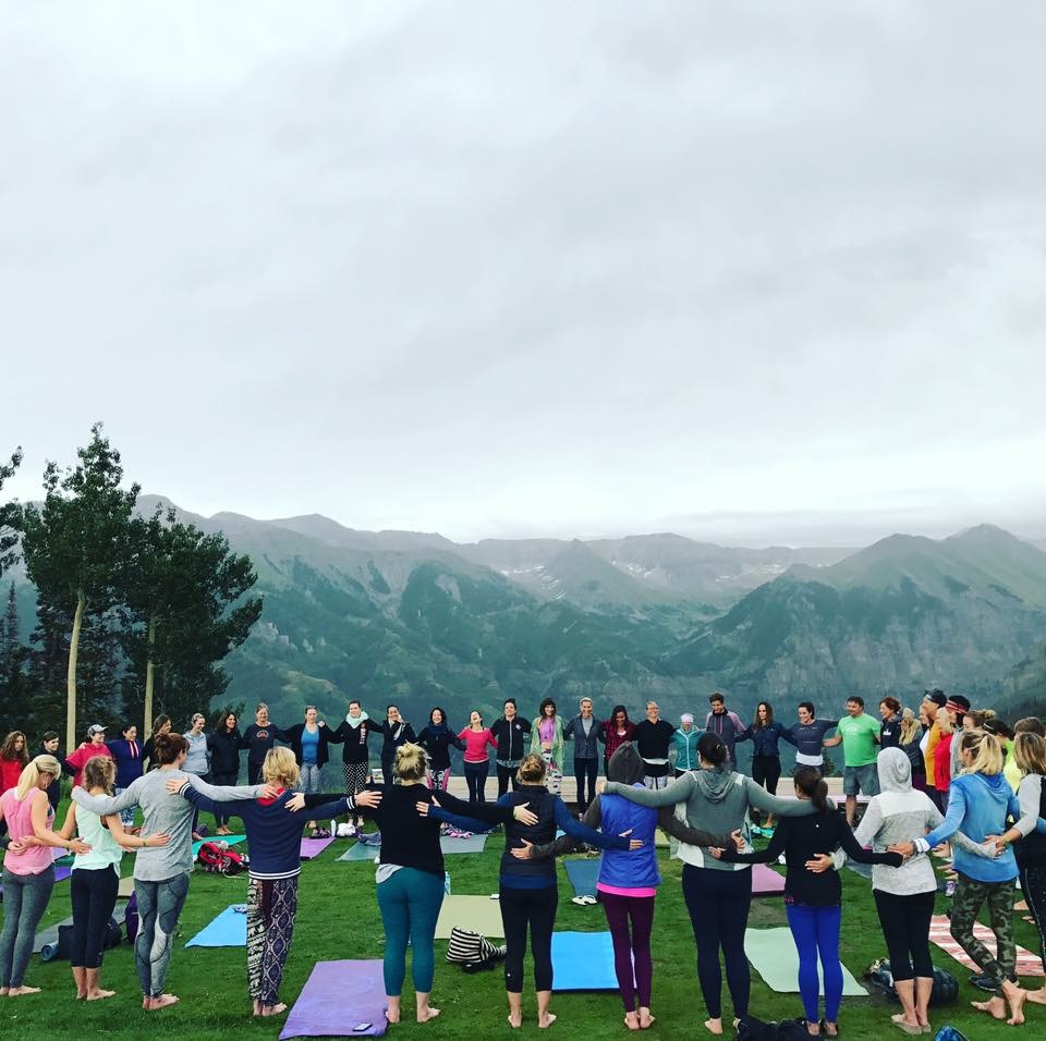 Find Yourself in Telluride July 19-22 2018      Learn More
