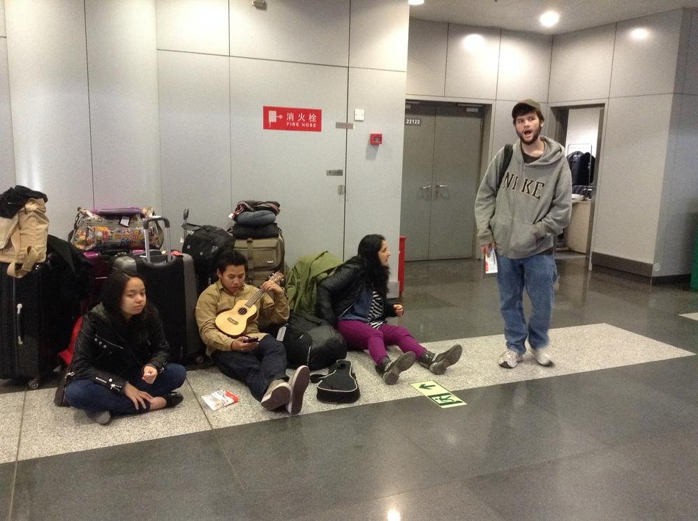 Esperando en el aeropuerto…