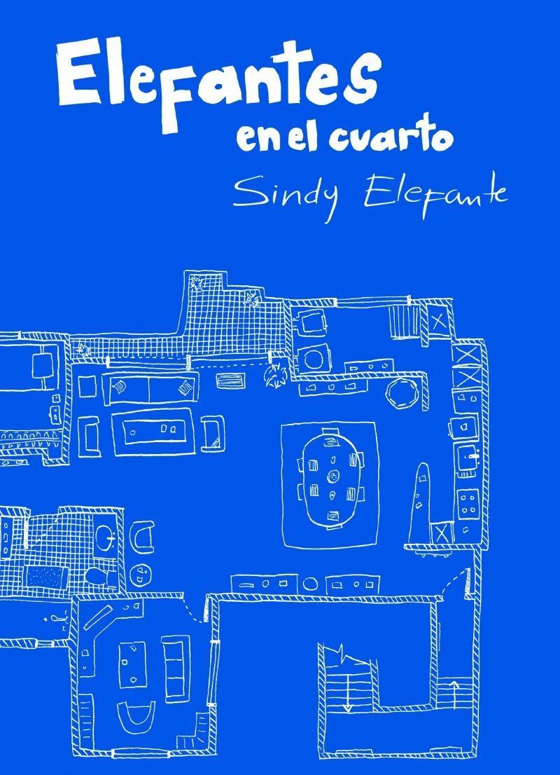 Esta es la portada del libro dibujado (y escrito) por Sindy Infante y publicado por la editorial Cohete Cómics.