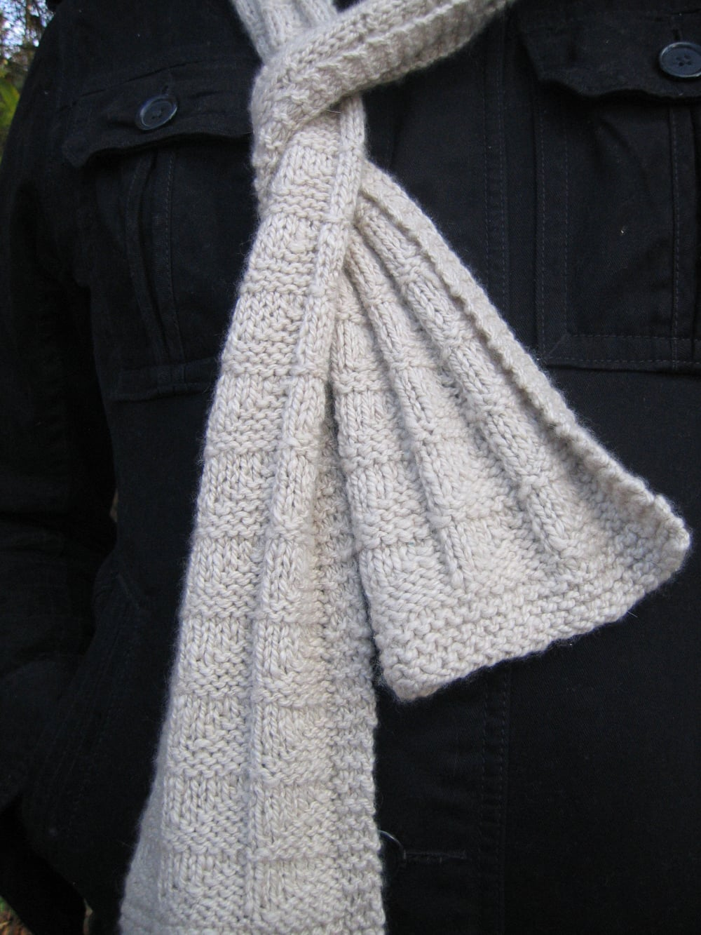 Sailor Scarf by Nancy cavender