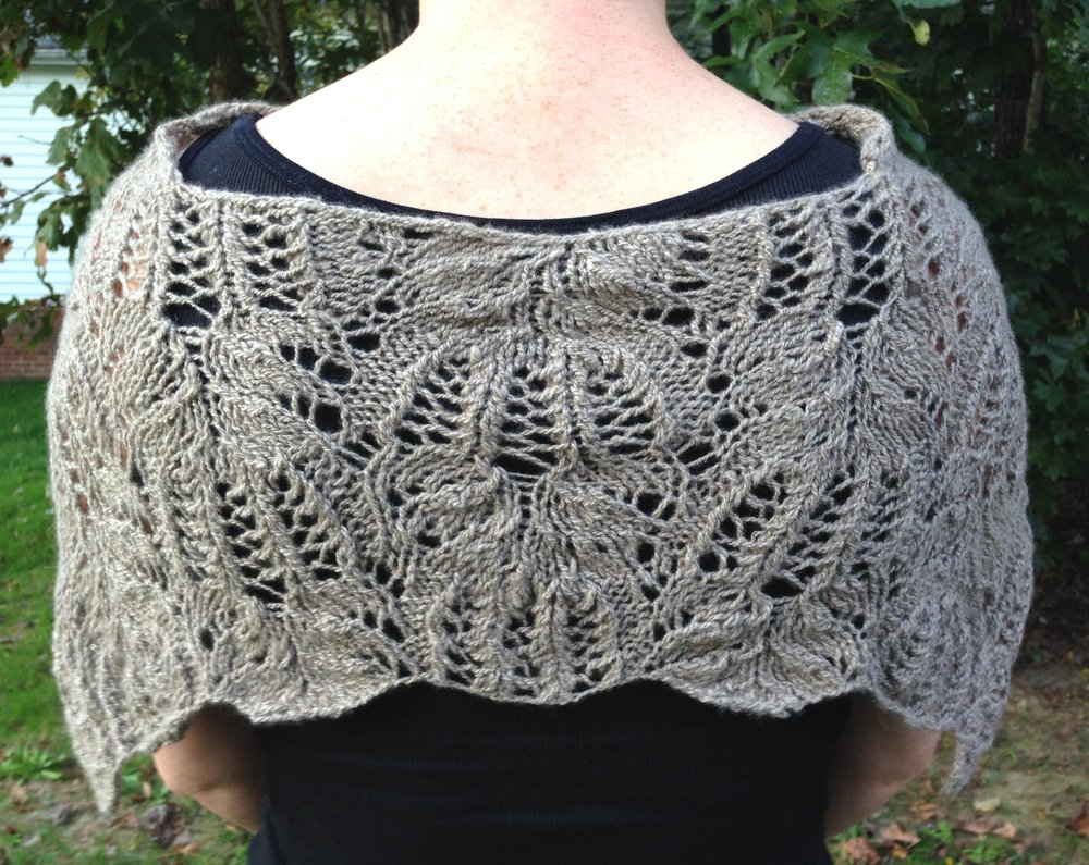 frost flowers capelet by mary ann gebhardt