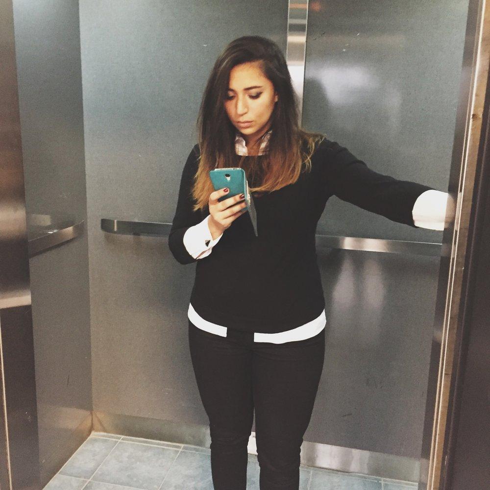 career-women-black-sweater-white-shirt-cufflinks-for-women