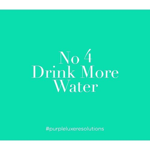 Happy New Year 2018!  No 4. Drink more water  There might be a possibility that you are thinking of new ways to live healthier than last year, it may also be your New Year's resolution. . Despite of whether you want to lose 10 pounds or improve your physic, one of the easiest ways is to drink water. #purpleluxeresolutions  _____________  www.purpleluxe.com  _____________  Stay in the known. Sign up to our newsletters: http://bit.ly/2lWUHFR  _____________  Love, peace and cufflinks  @purpleluxemontreal  #jewelry #jewellery #designerjewellery #jewelryaddict #currentlywearing #style #ontrend #accessories #accessory #jewelrygram #womensfashion #whattowear #instajewelry #jewelrydesign #musthave #mtl