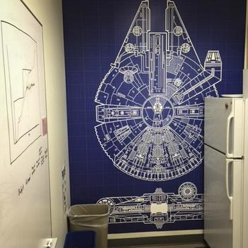 Millenium Falcon Kitchen
