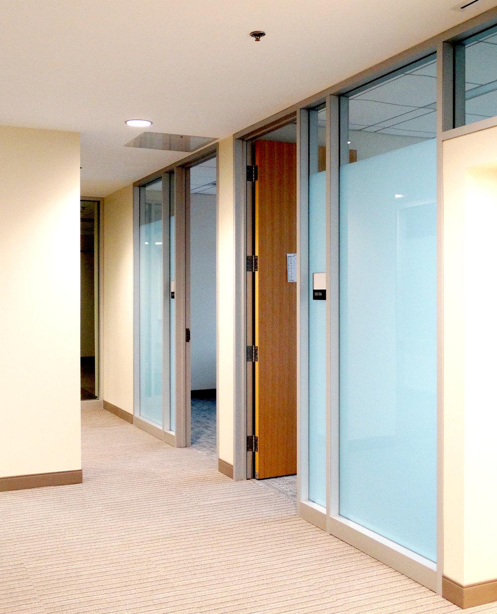 Encase Aluminum Framed Glass Wall Classroom Wood Door - Spaceworks AI.jpg