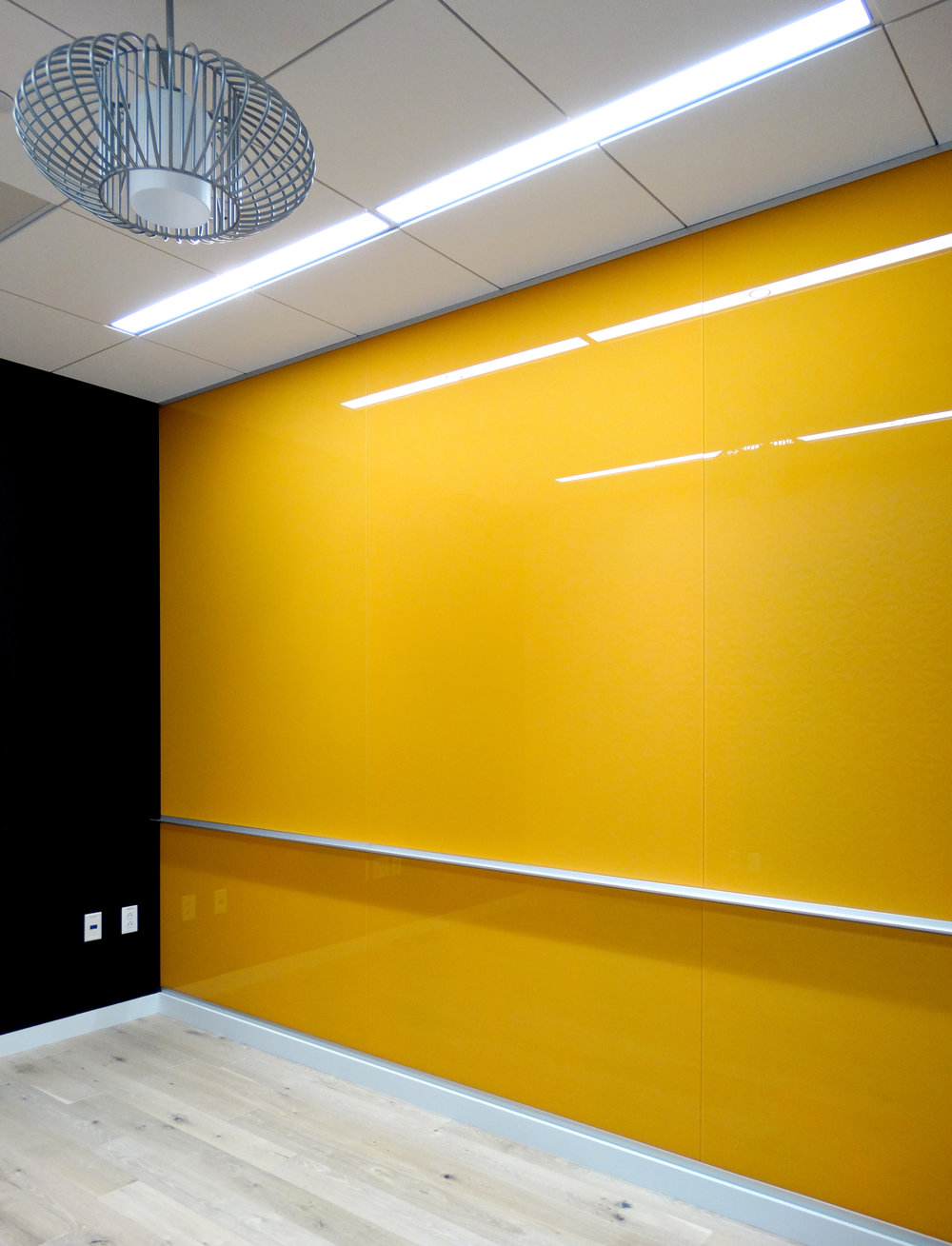 Custom Color Yellow Full Wall Marker Board - Spaceworks AI.jpg
