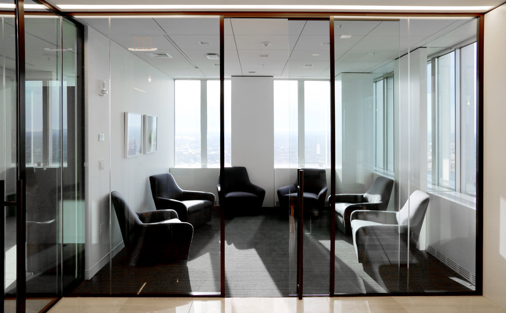 Modernus Glass Huddle Room Glass Sliding Door - Spaceworks AI.jpg