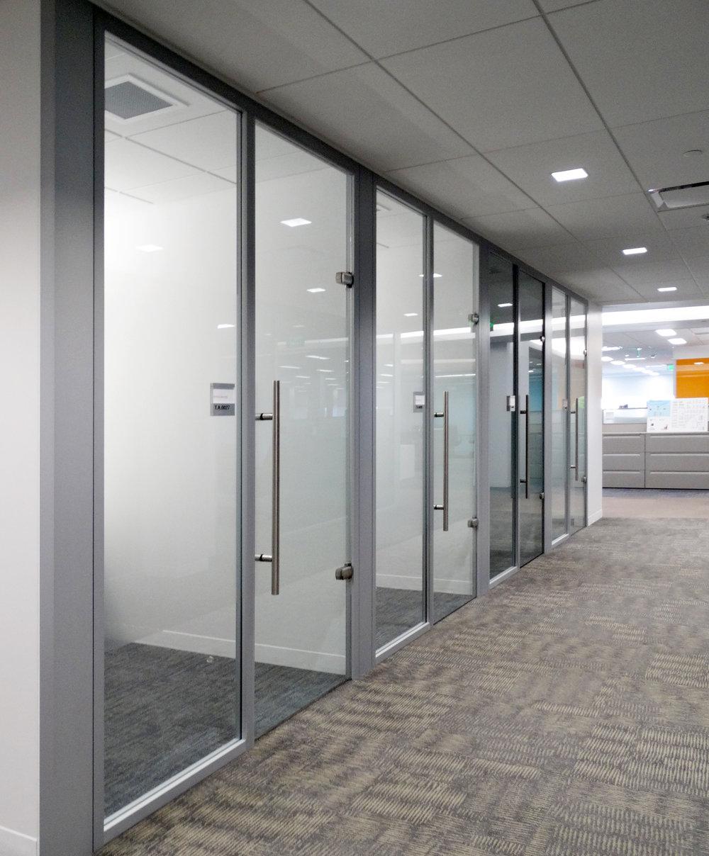 Litespace Aluminum Framed Office Wall Run - Spaceworks AI.jpg