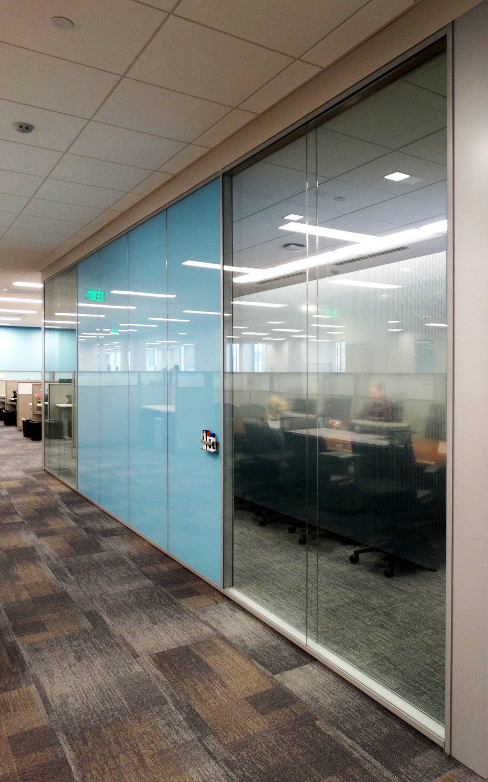 Specialty Glass Office Wall Aluminum Framed System - Spaceworks AI.jpg
