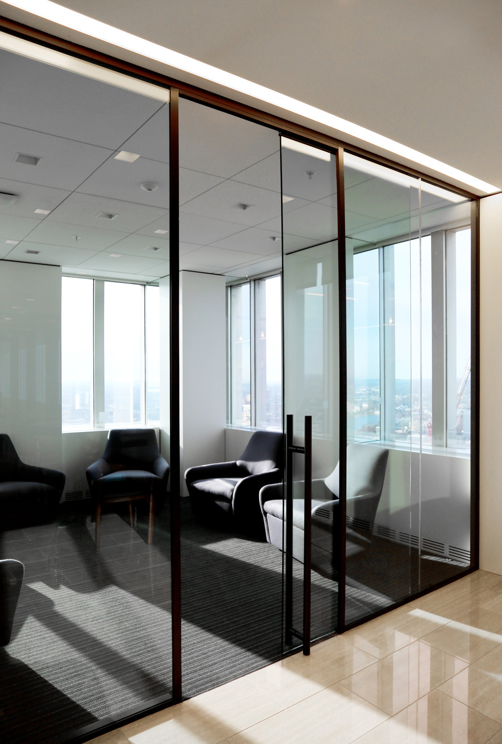 Modernus Demountable Glass Huddle Room Sliding Door - Spaceworks AI.jpg