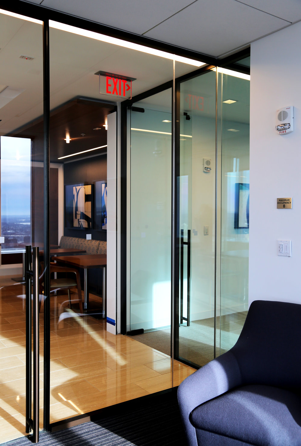 Modernus Frameless Glass Sliding Door Glass Wall Aluminum Framed - Spaceworks AI.jpg