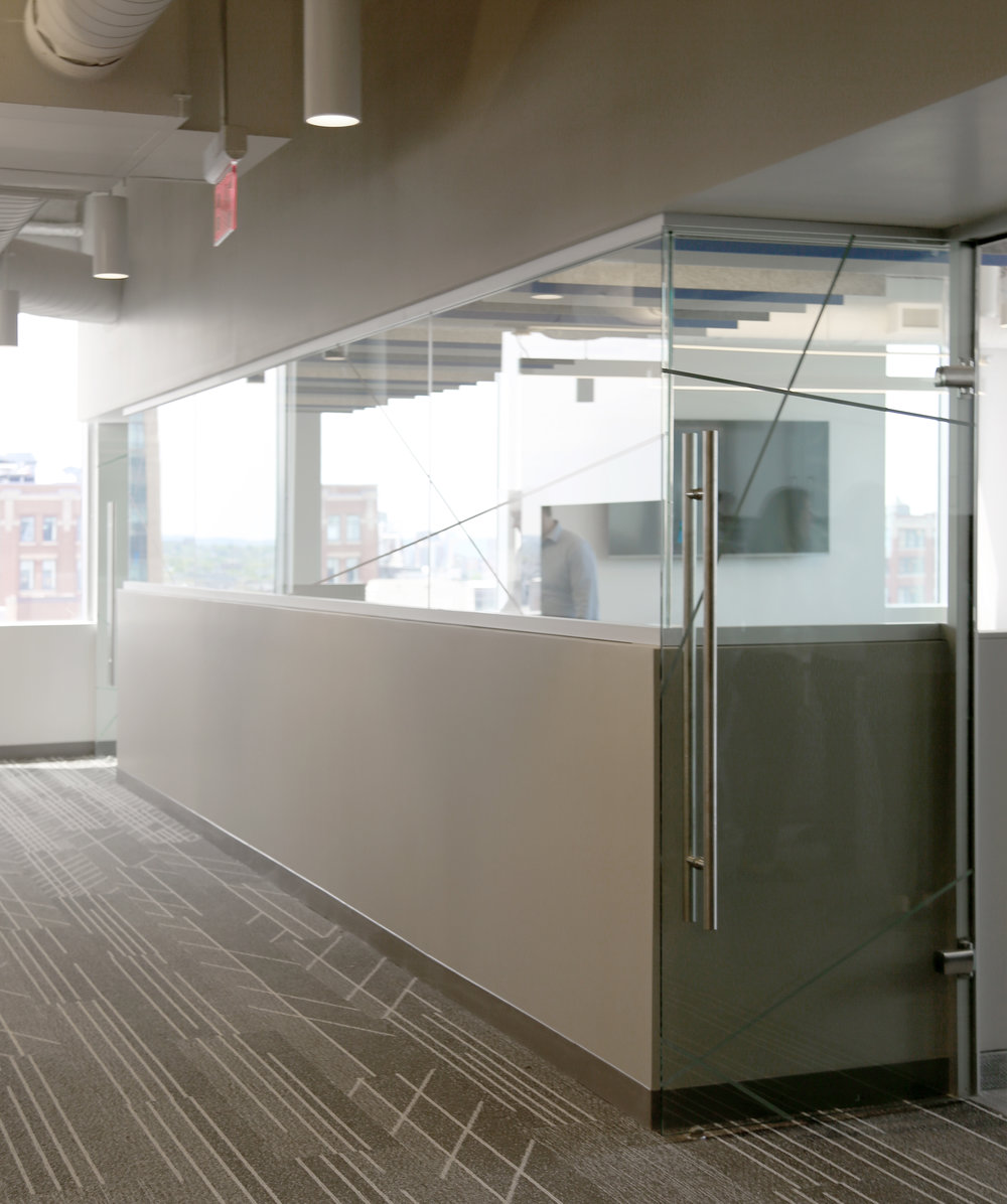 Litespace Demountable Partial Height Glass Wall - Spaceworks AI.jpg