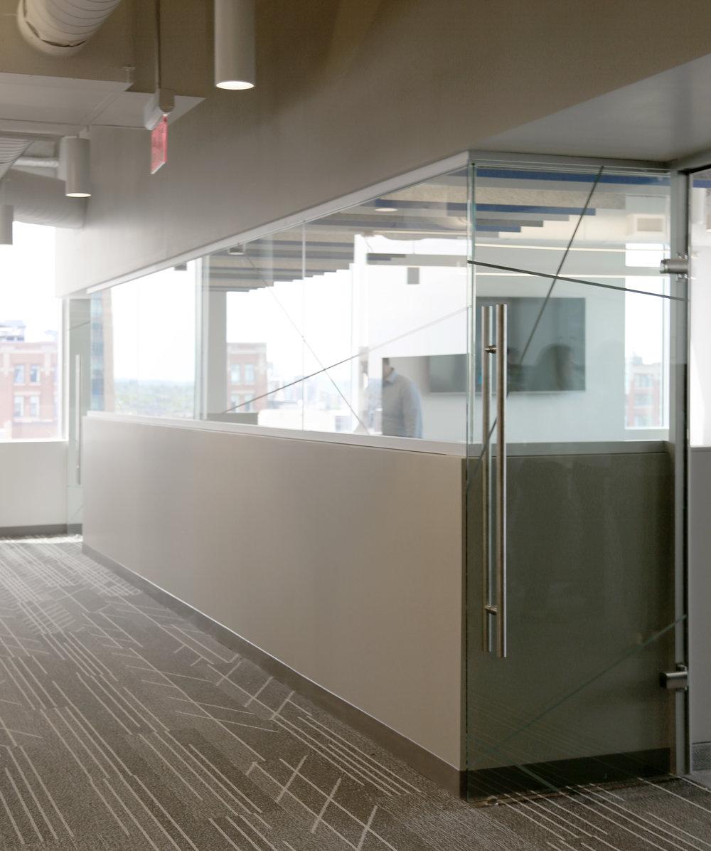 Litespace Demountable Partial Height Glass Wall - Spaceworks AI.jpg