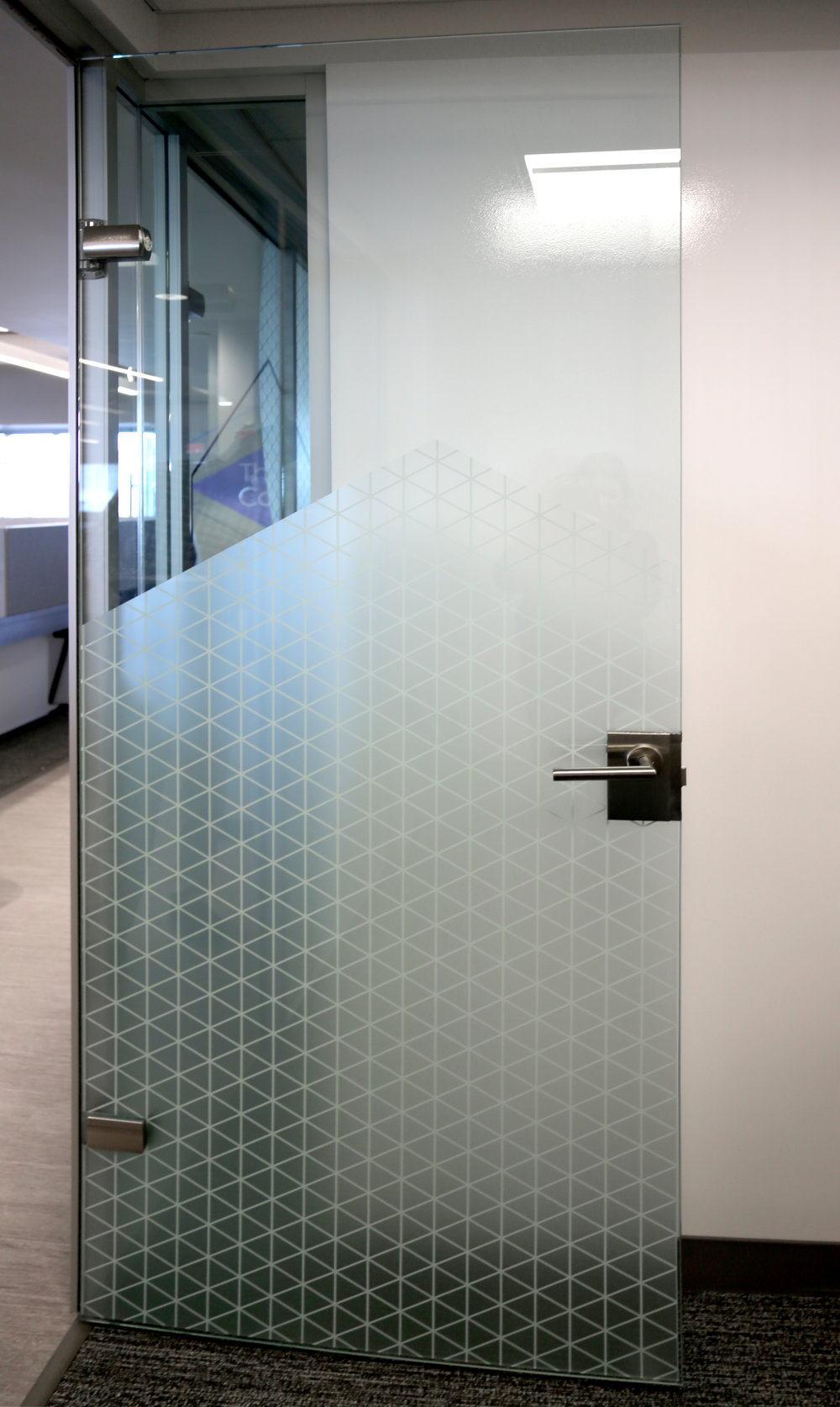 Litespace Frameless Glass Door Glass Mounted Lockset Aluminum Door Frame - Spaceworks AI.jpg