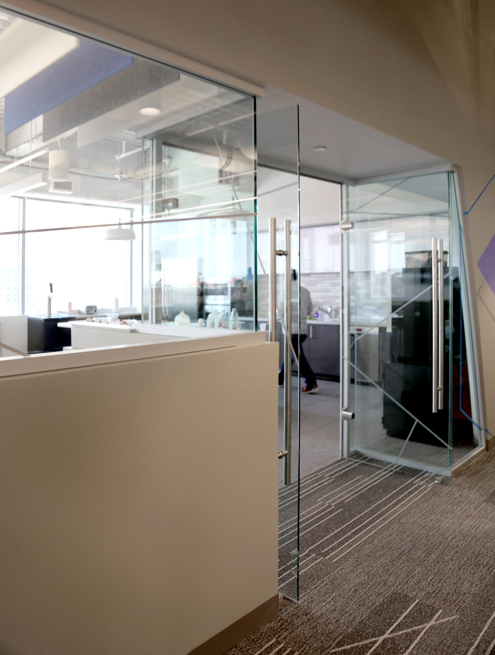 Litespace Half Height Frameless Glass Door Wall - Spaceworks AI.jpg