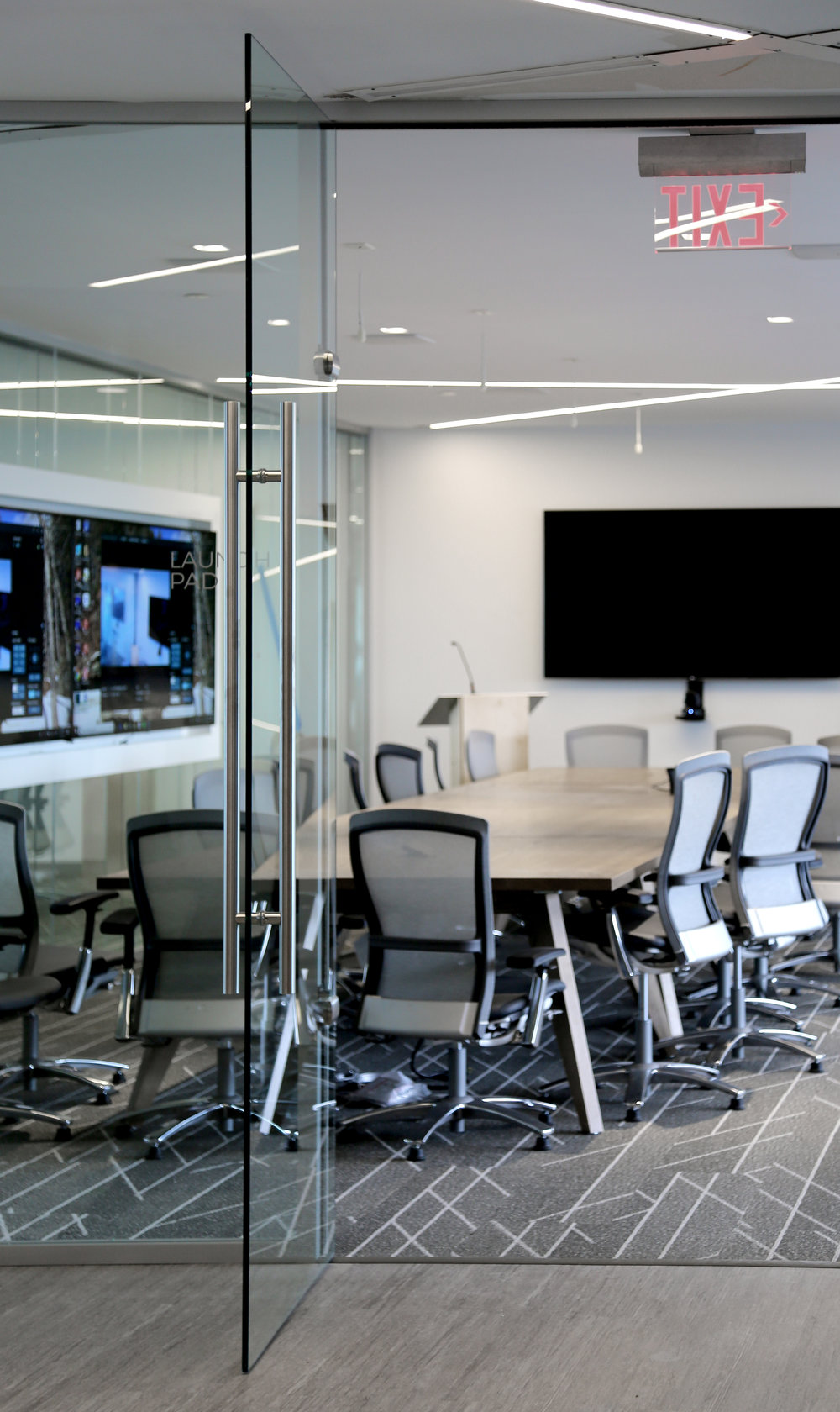 Litespace Reception Conference Area Glass Front Frameless Glass Door - Spaceworks AI.jpg