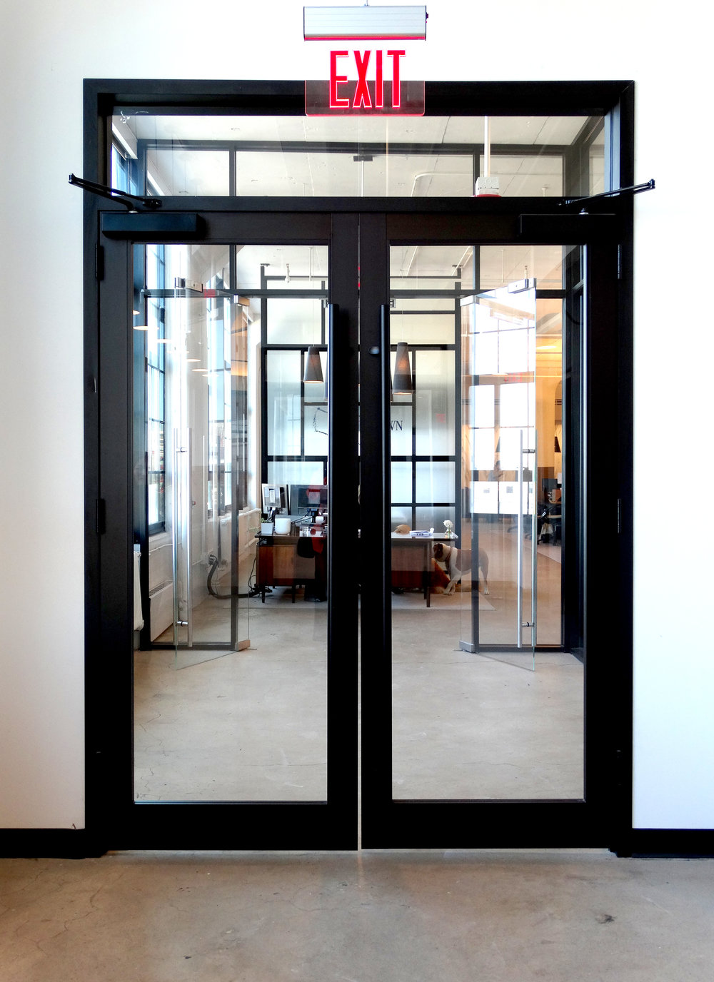Encase Black Anodized Entry Doors - Spaceworks AI.jpg