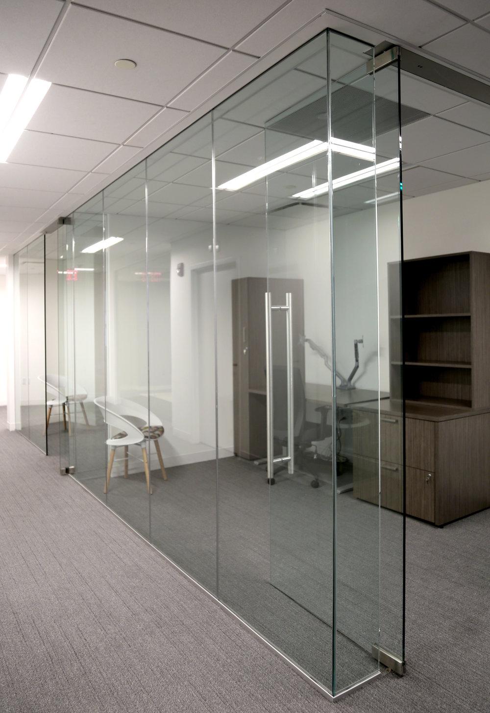 Illume Frameless Glass Office Run - Spaceworks AI.jpg