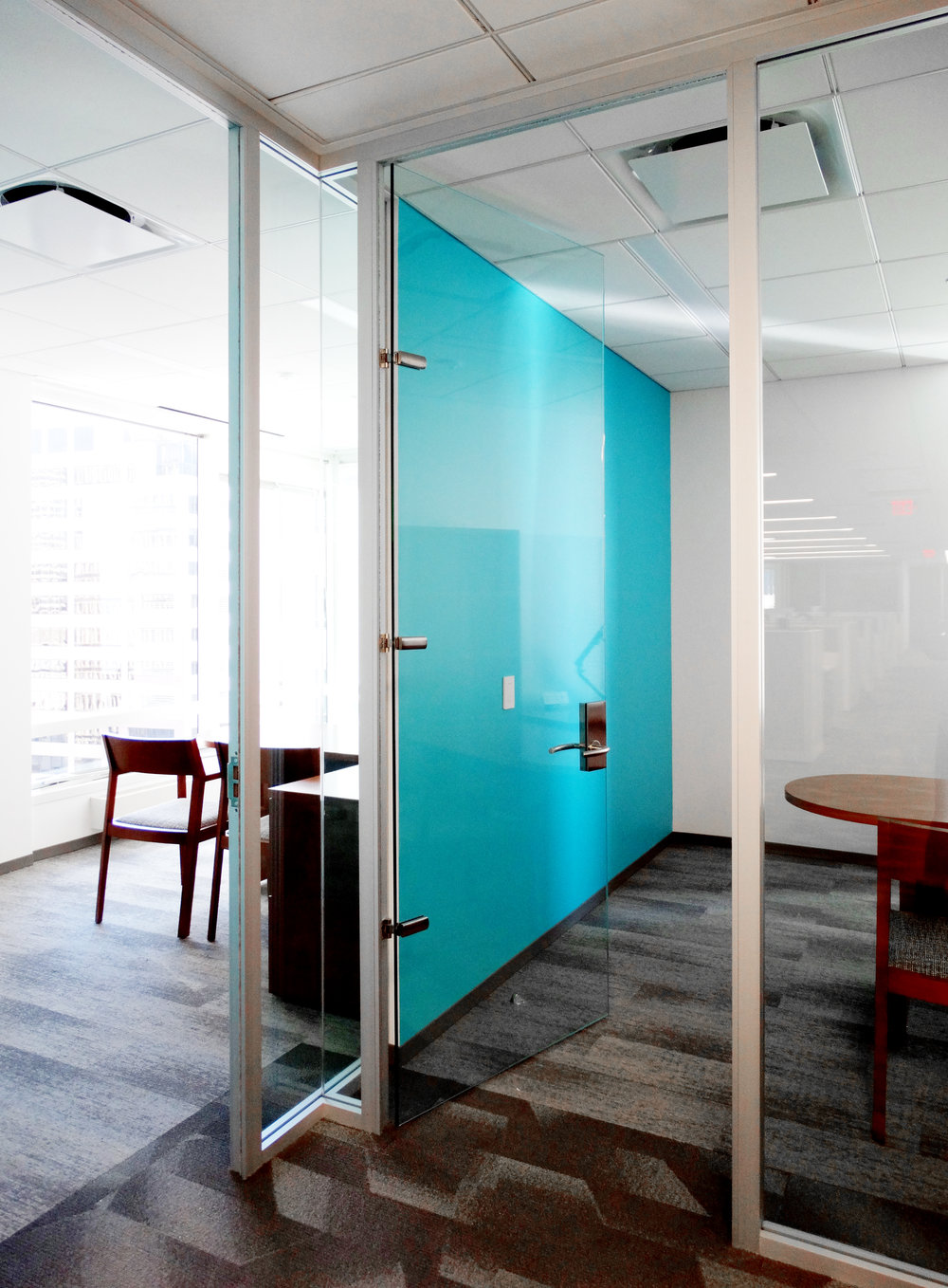 Litespace Demountable Glass Wall Frameless Glass Door - Spaceworks AI.jpg