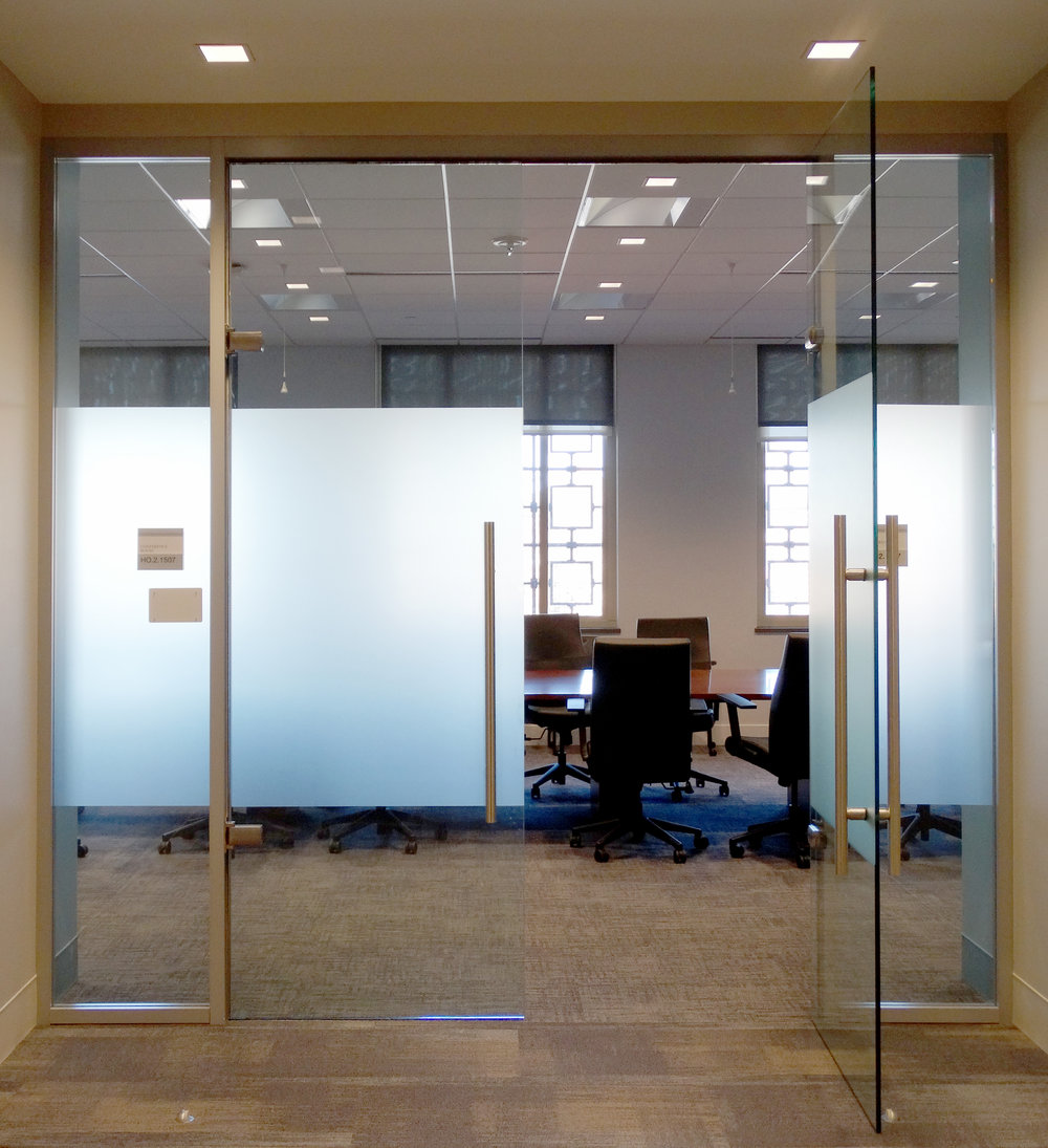 Litespace Frameless Glass Hydraulic Hinge Double Door - Spaceworks AI.jpg