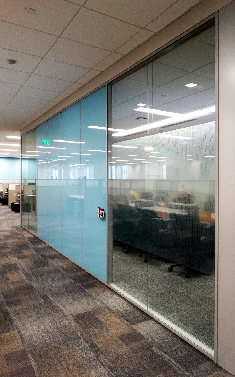 Specialty Glass Office Wall Aluminum Framed System - Spaceworks AI.jpg