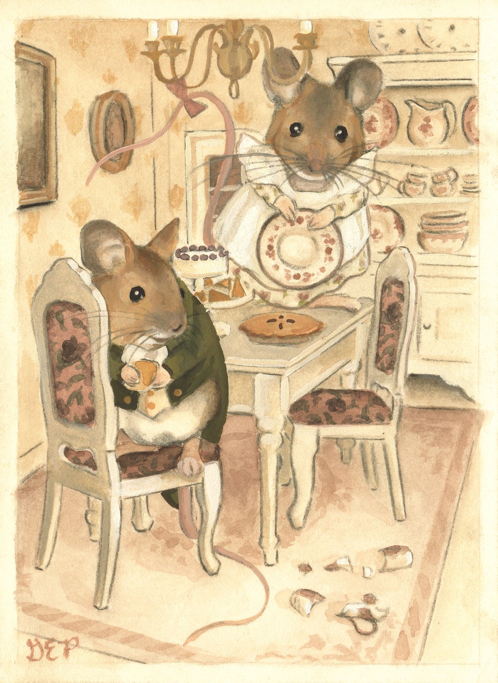 The Town Mouse Country Dollhouse Gretchen Ellen Powers And