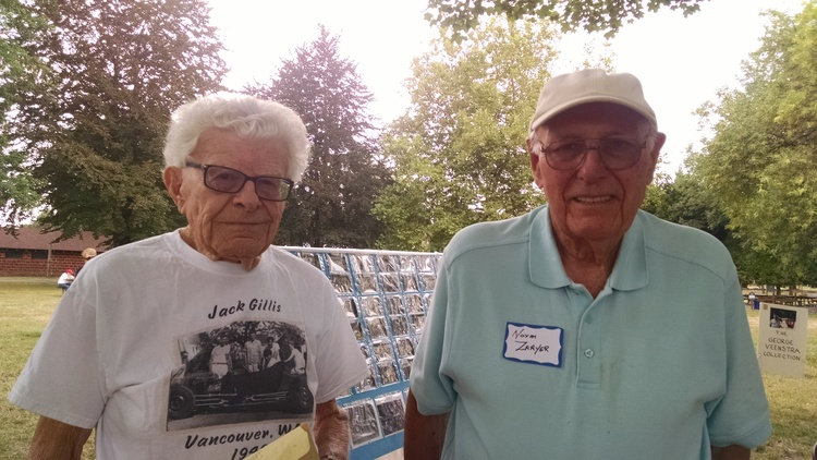 Jack Gillis on left and Norm Zaayer on right.