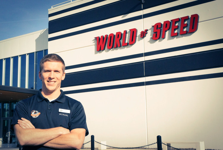 Ryan Thoma at World of Speed Museum