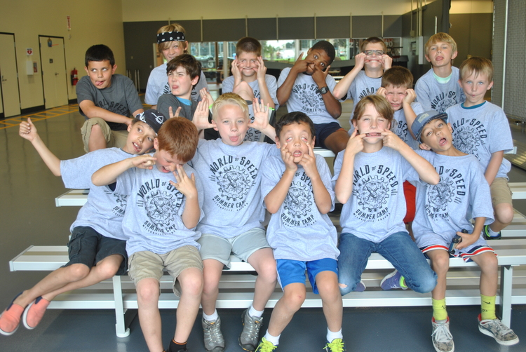 Graduates of the week 1 of the World of Speed summer camps