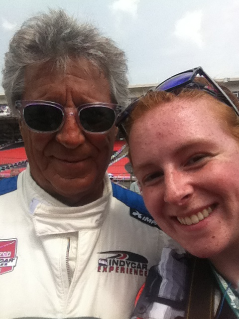 Mario and I at the Indianapolis Motor Speedway this past Memorial Day weekend 2015        6 Likes