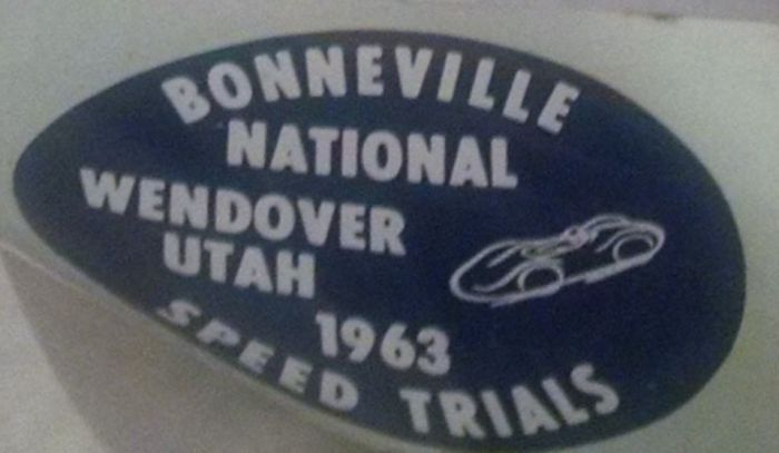WOS Archive Streets - Bonneville Sticker