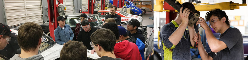 Fall 2015 Automotive Fundamentals Class