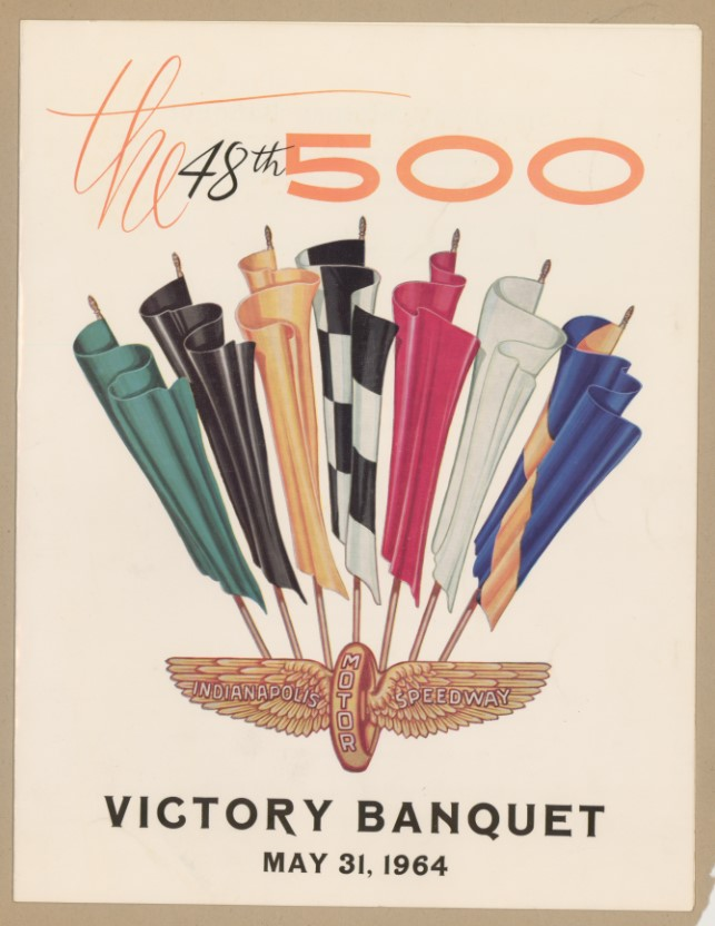 1964 Indianapolis 500 Victory Banquet program cover