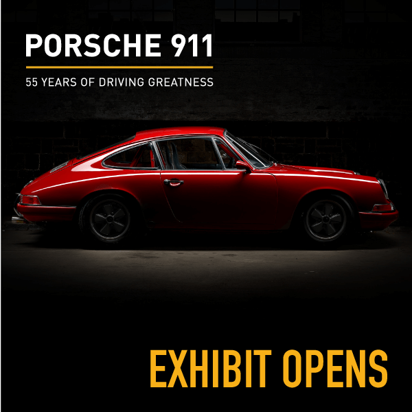 Exhibit Opening Porsche 911 World Of Speed