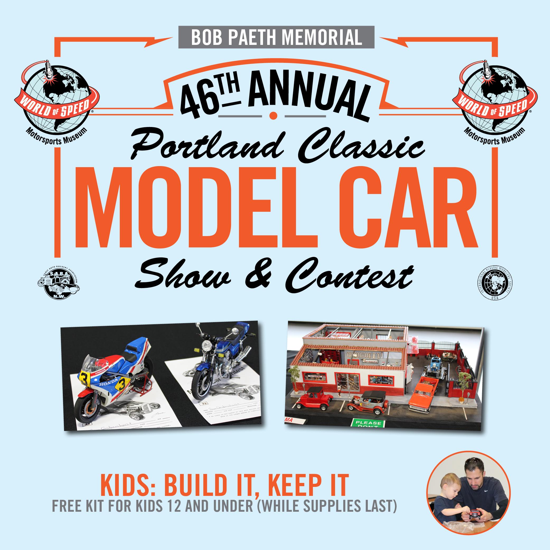 Th Annual Portland Classic Model Car Show Contest World Of Speed - Portland car show 2018