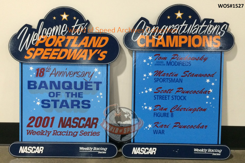 2001 Banquet of the Stars was the last of its kind before Portland Speedway closed its doors the same year