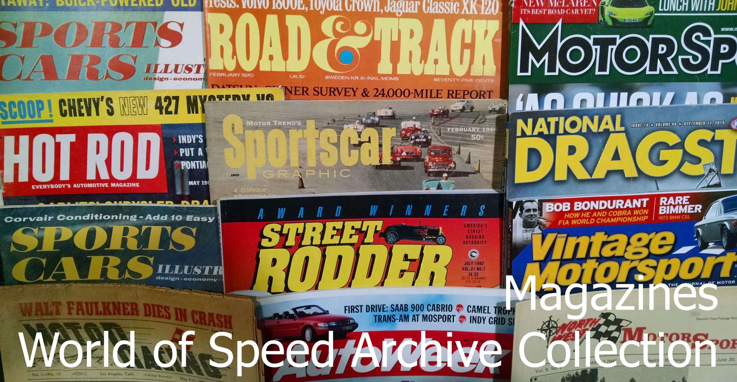 Archive Blog — World of Speed