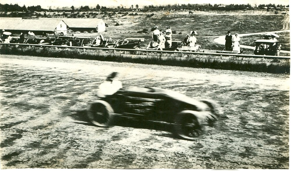 Barney Oldfield at Rose City Speedway, 1900s