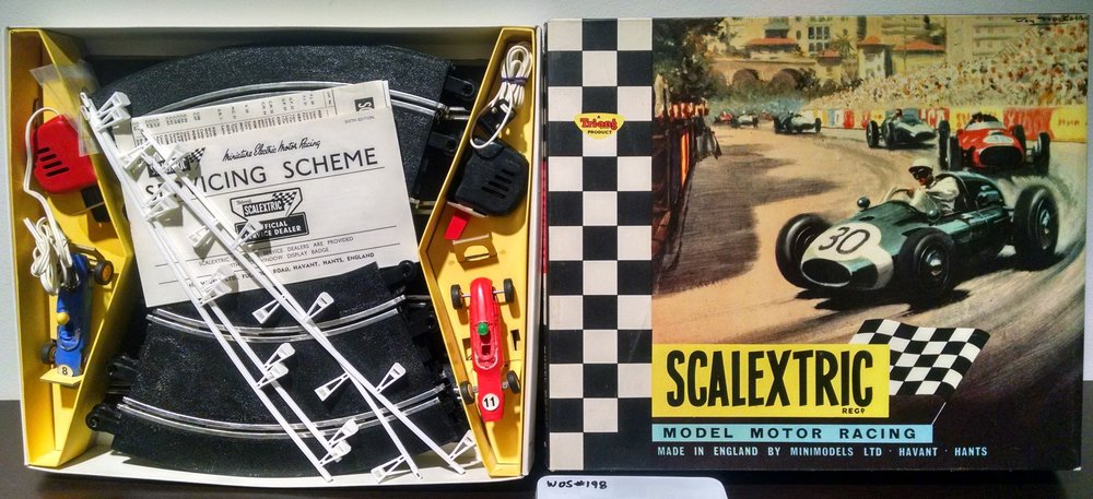 Scalextric 1960s motor racing game, WOS#198