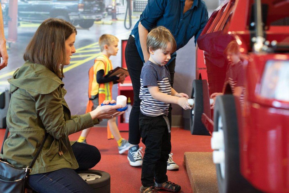 Super Service Center - Children's Interactive Exhibit